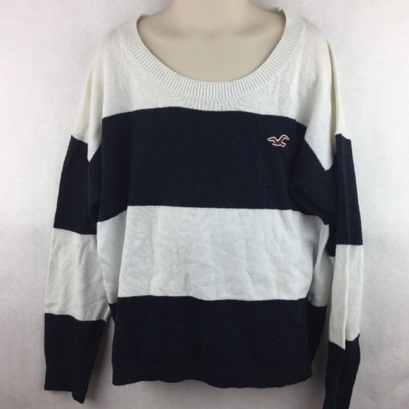 279dfe80a Hollister Shirts & Tops | Girls Black And White Sweater Size Xs ...